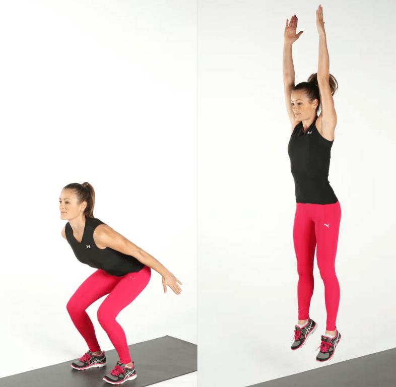 Comment faire des squats sans matériel photo