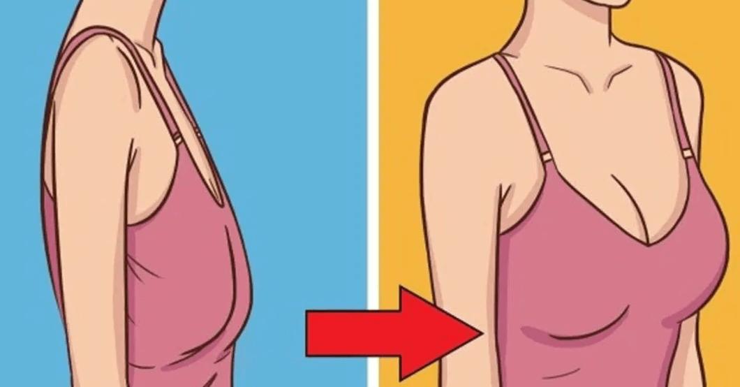 comment perdre de la poitrine femme photo
