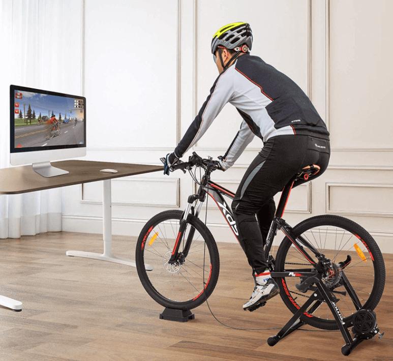 Home trainer vélo photo