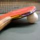 Raquette de ping pong professionnel photo