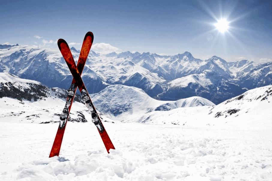 Les skis photo