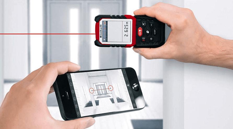 Télémètre de laser photo