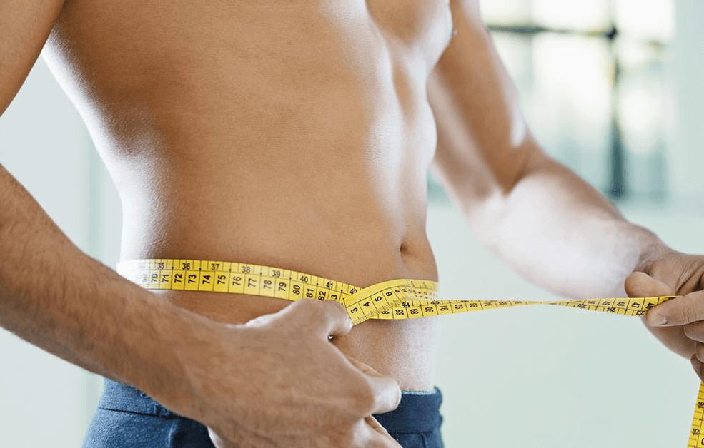 comment perdre du ventre homme photo