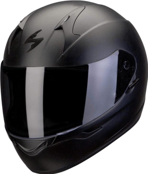 casque moto silencieux photo
