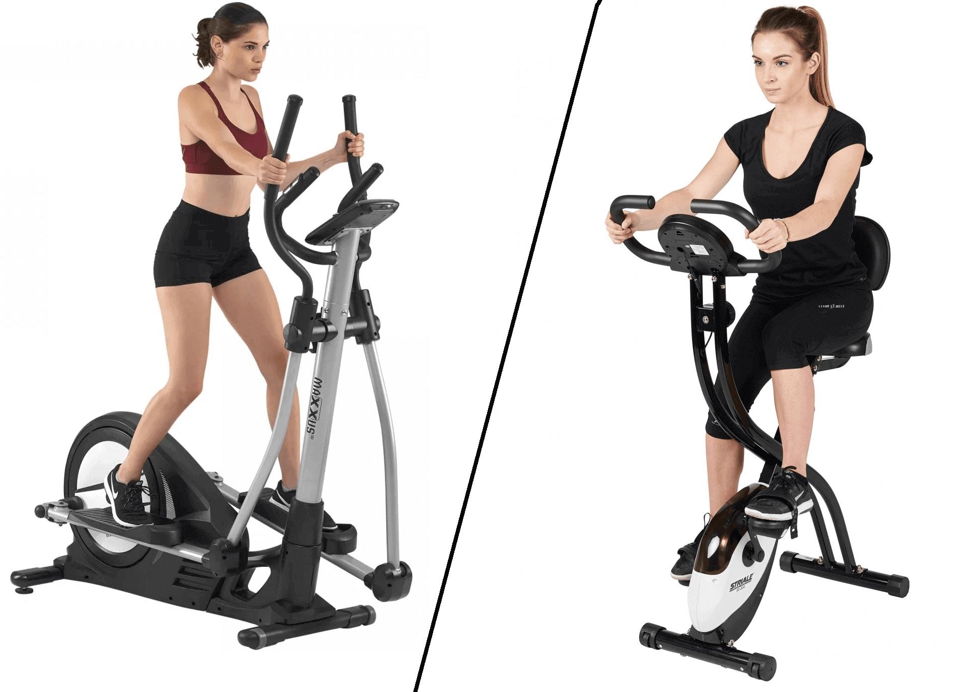 Quelle différence entre un vélo d'appartement et un vélo elliptique photo
